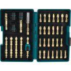 Makita Impact GOLD® B-52370 38-Piece Torsion Screwdriver Insert Bit Set