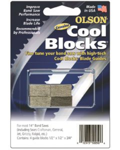 "Olson Cool Blocks,14""Jet/General/Grizzly"