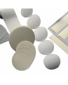 "Mirka 02-314-320 CaratFlex 5"" 320 Grit Silicon Carbide PSA Linkrol Disc, 100 Piece"