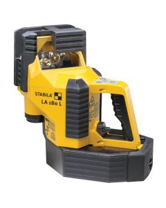Stabila 02180 LA180L Auto Align Laser Level Layout Station, with Receiver Detector