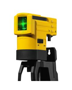 Stabila LAX50G Green Beam Cross Line Laser with Pole