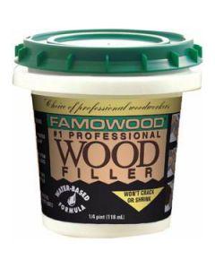 40042134 Famowood Water Based Wood Filler, 6 oz, Red Oak