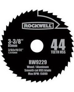 "RW9229 Versacut 3-1/8"" 44T HSS Blade"