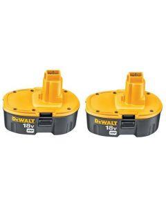 DeWalt DC9096-2 18V XRP NiCd Battery 2-Pack (2 batteries per package)