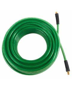 """Hitachi 115157 3/8"""" x 50' Professional Grade Green Polyurethane Air Hose"""