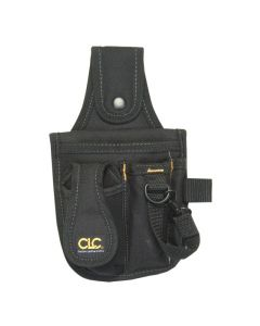 CLC 1501 4-Pocket Tool and Cell Phone Holder, Polyester Fabric
