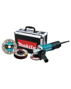 "Makita 9557PBX1 4-1/2"" Corded Paddle Switch Cut‑Off/Angle Grinder"