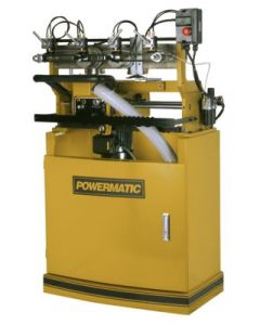 Powermatic 1791305 DT65 Single Spindle Dovetail Machine, 1HP, 1PH, 230V, Pneumatic Clamping