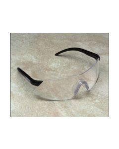Black/Clear Anti-Fog Lens Safety Glasses