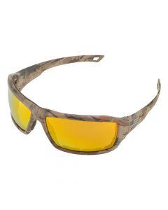 ERB 18698 Live Free Camo/Gold Safety Glass, 6 Piece