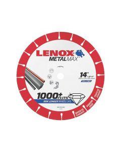 """Lenox METALMAX ™ 1972929 14"""" Diamond Cutoff Wheel"""