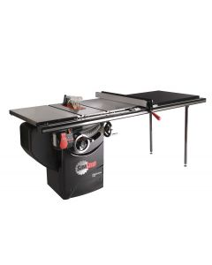 "10"" 1.75 HP Professional Cabinet Saw with 52"" T-Glide Fence System, Rails and Extension Table"
