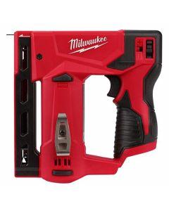 "Milwaukee 2447-20 M12 3/8"" Crown T50 Stapler, Bare Tool"