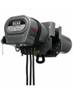 JET 262610 1ET-3C, 1 Ton Electric Trolley, 3Ph, 230/460V, Prewired 230V