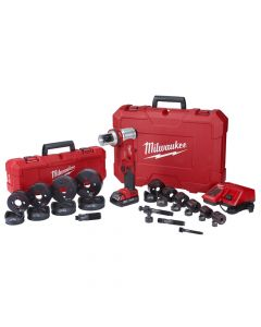 Milwaukee 2677-23 M18 Forcelogic 6-Ton Knockout Tool Kit