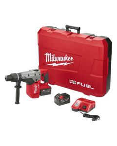 Milwaukee 2717-22HD M18 FUEL Cordless SDS-Max Rotary Hammer Drill Kit with 9.0 Ah Battery