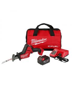 Milwaukee 2719-21 M18 Fuel Hackzall Reciprocating Saw Kit, 5.0Ah Batteries