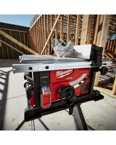 "Milwaukee 2736-21HD M18 Fuel 18V Cordless 8-1/4"" Table Saw with One-Key Kit, 12Ah Batteries"