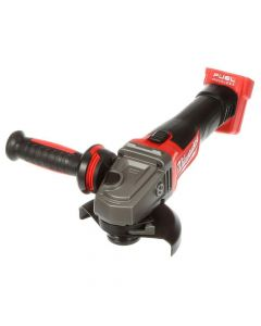 "Milwaukee 2781-20 M18 18V Fuel Lithium-Ion 4-1/2"" / 5"" Slide Switch Grinder, Bare Tool"