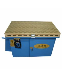 """Denray 2800 48"""" Downdraft Grinding Table with Tube Filtration"""