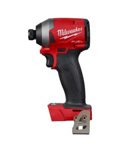 "Milwaukee 2853-20 M18 18V Fuel Cordless 1/4"" Hex Impact Driver, Bare Tool"