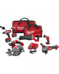 Milwaukee 2896-26 M18 FUEL 6-Piece Cordless Combo Kit