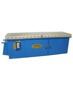 """Denray 2896 96"""" Downdraft Grinding Table with Tube Filtration"""