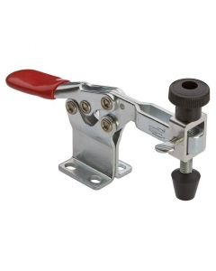 Rockler 29485 Heavy Duty Push-Down Quick Set Lever Clamp, 2-1/4 x 1 inch Arm, 1/4 inch-20, 500 lb