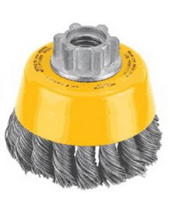 "DeWalt DW4920 3"" X 5/8-11 .014 Crimp Wire Brush Cup"