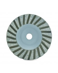 """LACKMOND PRODUCTS SPP Series 4"""", 5/8""""-11 Turbo Cup Wheel"""