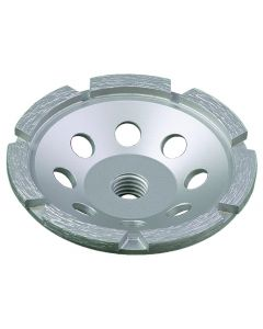 """LACKMOND PRODUCTS SPPGCSN Series 4"""", 5/8""""-11 Single Row Cup Wheel"""