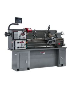 JET 321123 GHB-1340A Lathe with ACU-RITE 200T DRO and Taper Attachment Installed