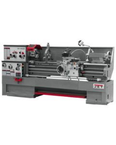 JET 321504 GH-1860ZX Lathe with 2-axis ACU-RITE DRO 200S and Taper Attachment Installed