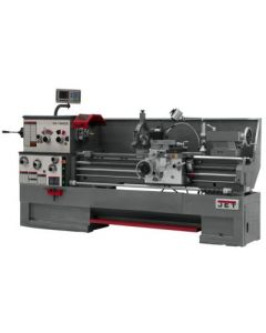 JET 321571 GH-1880ZX Lathe with Newall 2-Axis DP700 DRO & Taper Attachment Installed