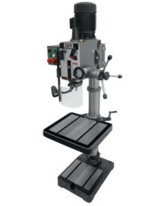 "JET 354022 GHD-20T Manual Feed Drill Press with Tapping, 1-1/4"" Drilling Capacity, 2HP, 3Ph, 230V, 12 Speeds"
