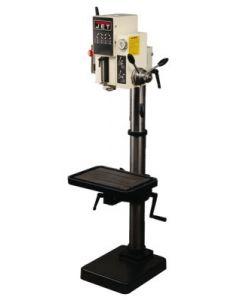 """JET 354030 J-A2608M-PF2 20"""" Gear Head Drill Press with Powerfeed, 220V, 3PH"""