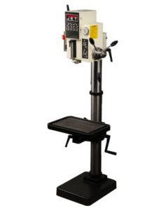 """JET 354036 J-A3008M-PF2 26"""" Gear Head Drill Press with Powerfeed, 220V, 3PH"""