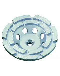 """LACKMOND PRODUCTS SPPGCD Series 4"""", 7/8""""-5/8"""" Double Row Cup Wheel"""