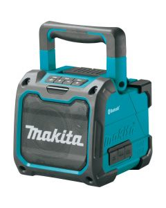 Makita XRM07 18V LXT/12V Max CXT Lithium‑Ion Cordless Bluetooth Job Site Speaker, Bare Tool