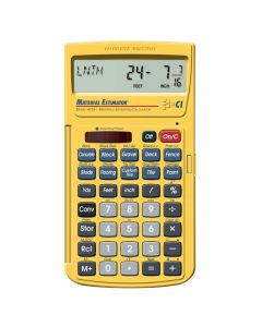 Calculated Industries 4019 Digital Material Estimating Calculator