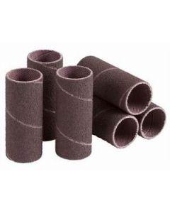 """SS-012016-080A6 Standard Medium Grade Sanding Sleeve, 3/4"""" x 1"""", 80 Grit"""