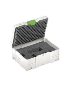 Festool 497696 SYS2Vari T-Loc Systainer 2 with Double-Diced Foam Insert