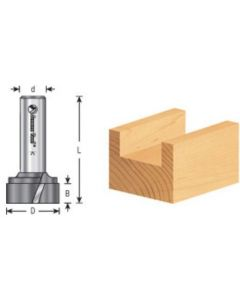 Bottom Cleaning / Spoilboard Router Bits, Upshear Design