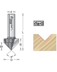 CNC Carbide-Tipped V-Groove Router Bits