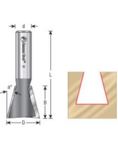 14 Degree Dovetail Router Bits