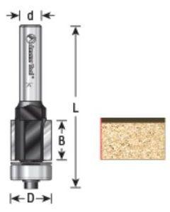 EZ-Change Flush Trim Replaceable Head Router Bit (Replaces Ocemco #TA-150)