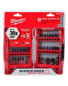 Milwaukee 48-32-4004 Shockwave Driver Bit Set, 32 Piece
