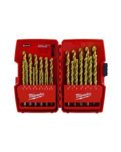 Milwaukee 48-89-0012 29 PC Milwaukee® Thunderbolt® Titanium Coated Drill Bits