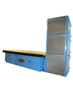 """Denray 4896LP 48"""" Downdraft Grinding Table with Cartridge Filtration"""