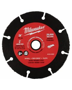 "Milwaukee 49-94-3005 3"" Carbide Abrasive Blade"